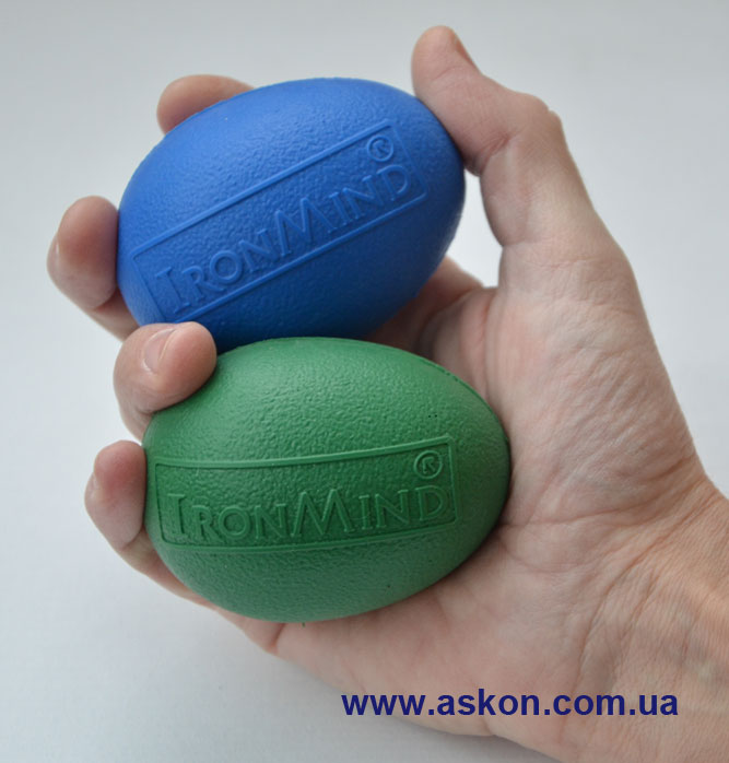 IronMind egg green egg blue